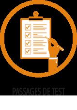 Séances de tests